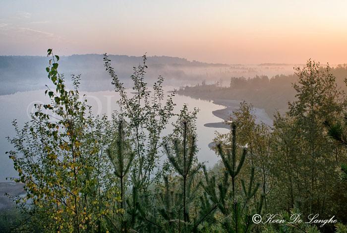 Nationaal park hoge kempen van fotogeniek belgië